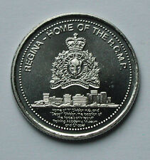 1981 Regina CANADA Trade Dollar Token/Coin - RCMP (Modern) Regimental Badge
