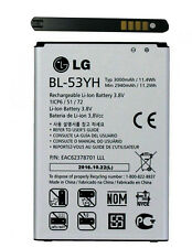 LG BL-53YH BATTERIA ORIGINALE PER LG G3 D850 D851 D855 D830 3000mah SMARTPHONE