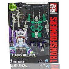 TRANSFORMERS Generations Titans Return SIX SHOT and Decepticon REVOLVER Toy