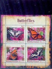 bashkortostan(russia) / 2019 rare butterflies series /mnh.good condition