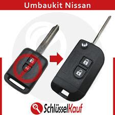 Nissan pliante Clé Transformation Boîtier Voiture Clé de rechange XTRAIL PATROL NAVARA