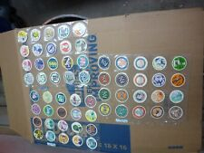 24 SHEETED BEACH BUNNIES SURF CITY POGS COMPLETE SET OF ALL