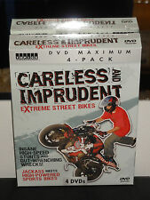 C and I: Careless and Imprudent - Extreme Street Bikes (DVD) 4-Disc Set! NEW!