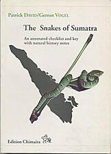 The Snakes of Sumatra. Patrick David, Gernot Vogel (Z46)