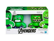 Official Avengers Movie Mini Mighty Muggs 2 Pack Hulk VS Abomination Vinyl