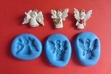 Coro degli angeli stampi in silicone per Sugarcraft CAKE TOPPER fimo cernit cupcake