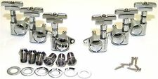 Guitar Parts WILKINSON ROTOMATIC - DECO - 3 Per Side 3x3 - TUNERS SET - CHROME