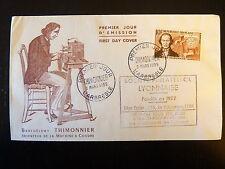 FRANCE PREMIER JOUR FDC YVERT 1013   B THIMONNIER  10F  L ARBRESLE 1955
