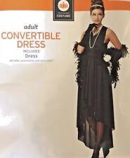 Women's Black Convertible Dress multi wear Halloween Costume New Plus size 2X