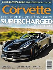 Corvette magazine Hennessey supercharged C7 convertible Small block 1994 Coupe
