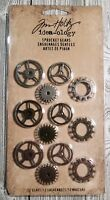 Tim Holtz® Idea-ology® 12 Sprocket Gears TH92691 Assemblage Mixed Media Art