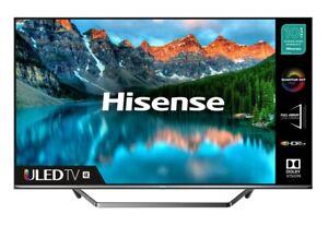 "Hisense 50U7QFTUK 50"" Smart 4K Ultra HD HDR QLED TV Alexa Freeview Play C Grade"