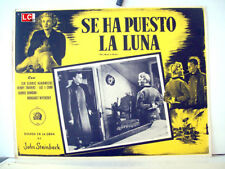 ¡ONLY AVAILABLE 24h.!/ THE MOON IS DOWN/Steinbeck/1943/OPTIONAL SET/54930/1 MEXI