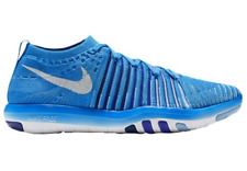 NIB NIKE Womens 8 FREE TRANSFORM FLYKNIT BLUE GLOW 833410 401 FITNESS SHOES $150