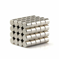 50Pcs Strong N50 Neodymium Magnets Rare Earth Round Disc Fridge Craft 5 x 5 mm