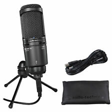 Audio Technica AT2020USB+ Gaming Twitch Microphone Streaming Game Mic