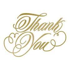 Anna Griffin Hotfoil Stamp - Thank You  :ACC0725290