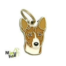 Dog name ID Tag,  Basenji, Personalised, Engraved, Handmade, Charm