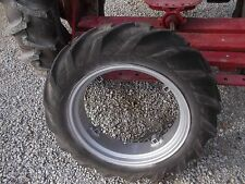 Farmall Cub or Lo Low Boy tractor 9-24 Good Year tread tire & REPAINTED IH rim