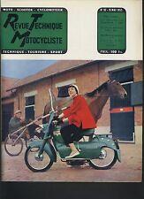 (12B)REVUE TECHNIQUE MOTOCYCLISME ZÜNDAPP S200 / MUSTANG AMC 98CC