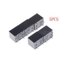 5 Pcs SRD-S-112D Mini Power Relay 12V DCSR