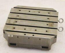 "CNC Steel Tombstone Workholding Fixture Block / 19.75"" X 19.75"" / T-Slots 5/8"""