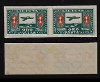 Lithuania, 1921, SC C5a, mint, imperf, pair. c8225
