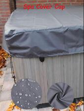 Hot Tub Spa Cover Cap Guard Waterproof Silver Jacket Bag Protector 200X200X25cm