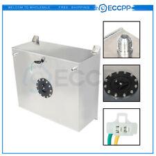 ECCPP 20 Gallon Lightweight Aluminum Race Drift Fuel Cell Tank + Level Sender