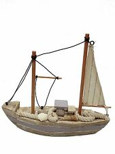 Handcrafted Wooden Nautical Sail Boat Decor/Nautical Themed Wedding/Baby Shower