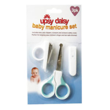 Newborn Kids Baby Safety Manicure Starter Set Nail Clippers Scissors