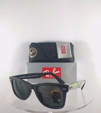 Brand New Authentic Ray Ban RB2140-F 1155 Sunglasses 2140 Black Camouflage Frame