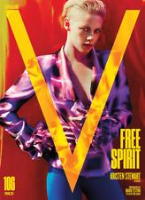 V MAGAZINE #106 SPRING 2017, Kristen Stewart, Free Spirit Issue.