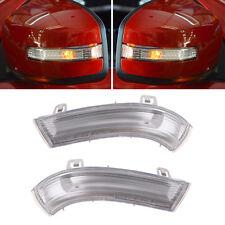 Left & Right Mirror Indicator Turn Signal Light For VW GOLF GTI JETTA MK5 PASSAT