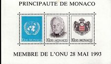 Monaco bloc feuillet N° 62  neufs **