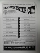 More details for manchester city v manchester united | 1994/1995 | lancs youth cup sf| 1 may 1995
