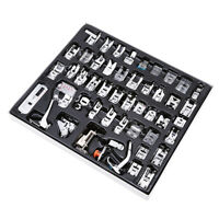 48pcs Stainless Steel Sewing Machine Foot Feet Presser Snap Set Kit S