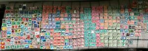 400+ Postage Stamps Swiss Helvetia Collectable Philately Crafts Display History