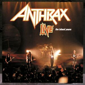 Anthrax - Live / The Island Years (CD Jewel Case)