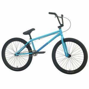 "2021 Sunday Model C 24"" BMX Bike Gloss Surf Blue"