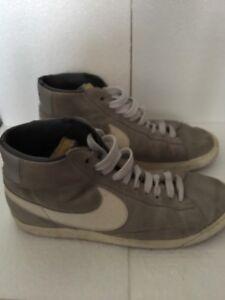 Nike blazer scarpe uomo Col. Grigio In Pelle Scamosciata Tg 41