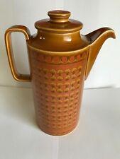 Hornsea, England, Saffron, 24 cm Height, Coffee Pot