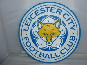 BRAND NEW LEICESTER CITY METAL WALL PLAQUE