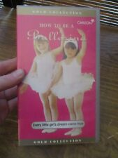How to Be a Ballet Dancer VHS Video Tape (NEW)