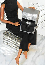 LOT Barbie Mari Karoke Player Stereo & Mini Silver CD Disc Dance Party System