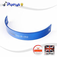 New replacement top headband for dr dre beats monster studio casque bleu