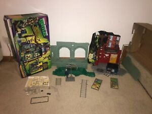 Teenage Mutant Ninja Turtles Secret Sewer Lair Playset - Boxed - Incomplete