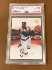 2004 SP Authentic Limited Allen Iverson /100 #64 PSA 10 GEM MINT Pop 1