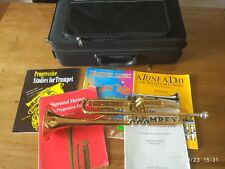Trumpet Yamaha Ytr 4335 G II With Books