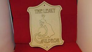 the Leaky Cauldron pub / Road Sign Plaque  / diagon ally potter